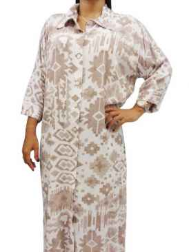 Juwita Moon Bali Plus Size Shirt Dress
