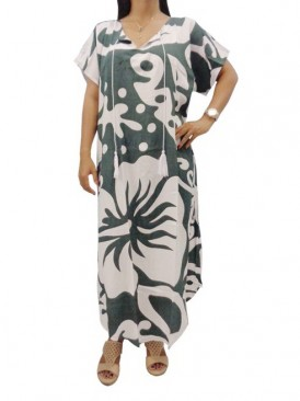 Long Kaftan Resort Wear Dress