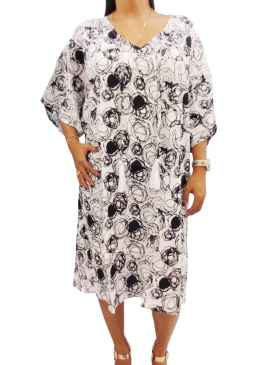 Made In Bali Women Plus Size Caftan